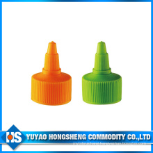 28/410 Colored Plastic Push Pull Bottle Cap