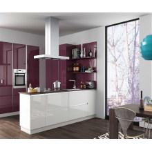 2016 weiße und rote modulare Küchenschränke