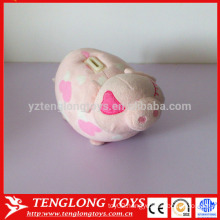Cute plush pig shaped piggy banks