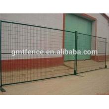 Clôture de sécurité temporaire mobile recouverte de PVC