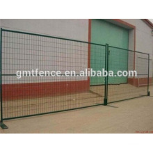 PVC coated moveable temporary safety fence