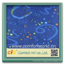 Design de mode nouveau design très élégant polyester tissu imprimé personnalisé