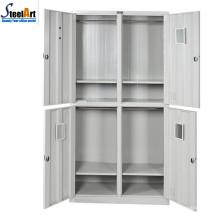 Diseños de almirah de dormitorio de metal de estilo moderno hechos en luoyang