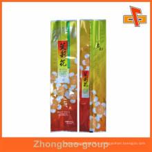 Назад Центральная Печать Пластиковая Упаковка Чайная сумка для китайского Жасминового Чая