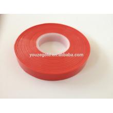 Cravate de cerclage de jardin PE rouge