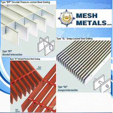 Direcely Factory for Hot-Dipped Galvanized Serrated Grating