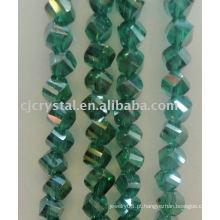 Contas de cristal em formas diferentes