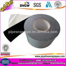 Cinta de tres capas con cinta de envoltura de tubo de película de polietileno anticorrosión