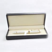 Высокая-конец металл ролик ручка, рекламная ручка с подарочной коробке
