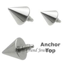 G23 Titanium Dermal Anchor Body Piercing Jewelry