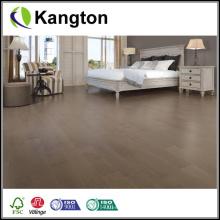 Revestimento de madeira de cor de madeira manchado de cor cinza (piso de madeira projetado)