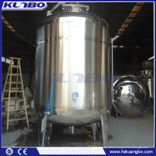 Réservoir de stockage d'alcool de boissons adapté aux besoins du client d'acier inoxydable de KUNBO