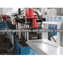 Steel pedal roll forming machine