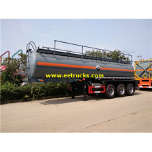 Semi-remorques de transport H2SO4 19000 litres 3 axes
