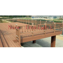 225*31mm Wood Plastic Composite Outdoor Decking with SGS, Fsc, CE Certificate