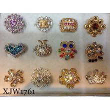Модное кольцо перста / кольцо ювелирных изделий / Multi цветастое кристаллическое выдвинутое кольцо (XJW1761)