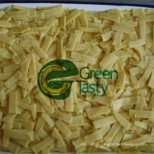 Alta qualidade em lata de bambu / Rei Shoots fatias