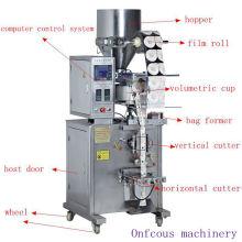 Máquina de envasado de azúcar / sal / arroz / grano / partículas verticales automáticas verticales de bolsita