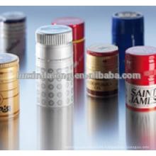 Bobinas de aluminio 8011 H14 utilizadas para tapas de botellas