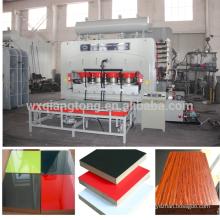 1830 * 3660mm prensa caliente de la prensa de la melamina / laminación del mdf / prensa caliente de la laminación del tablero del bloque