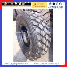 Neumático militar radial 365 / 85R20 del camión del camino con vida larga del uso
