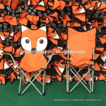 kids Children folding animal beach chair