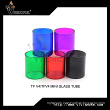 Vape Tank Tfv4 Mini Pyrex Glass Tube Tfv4 Replacement Glass Tube
