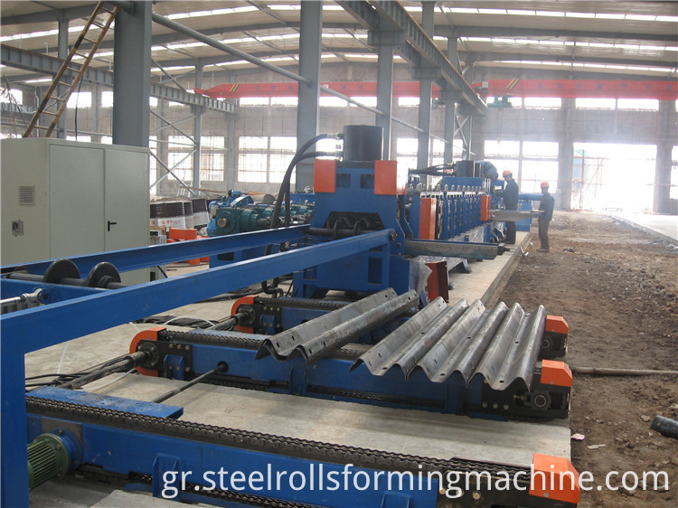 run out table for highway roll forming machine