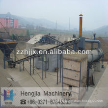 Rotary drum dryer, rotary cylinder dryer for granular material