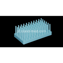 Test Tube Rack 66 Pillar para ¢ 12-15mm
