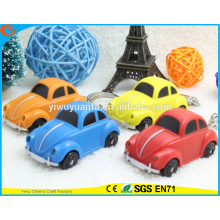 High Quality Novelty Design Car Assorted Sound Activated LED Keychain
