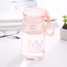Portable Colorful Sports Plastic Water Bottle