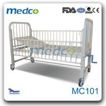 MC102 Meilleur vendeur! Lit d'hôpital pédiatrique manuel pour soins aux enfants