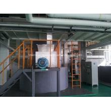Maquinaria de secado de destello rotatoria de la vuelta del dióxido de titanio