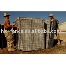 Caixa de gabião de malha de arame soldado