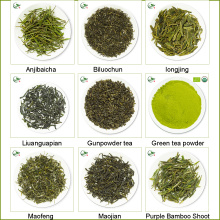 Loser grüner Tee