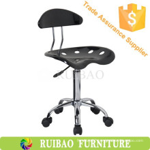 Wholesale Supplier Designer Bar Stools with Nylon Castor /Low Back Bar Stools