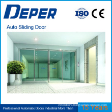 automatic door touch sensor glass sliding door