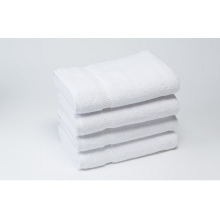 China wholesale 100% cotton jacquard hotel pure white bath towel