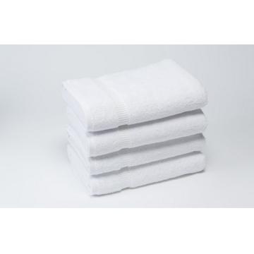 China wholesale 100% cotton jacquard hotel pure white bath towel