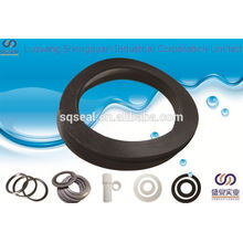 Container with rubber gasket
