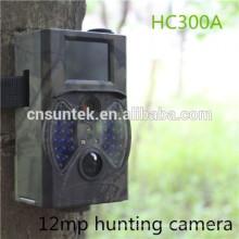 Caméras extérieures de traînée de jeu de mouvement de vente chaude de 12MP avec le flash noir HC300A