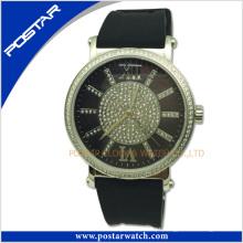 Hight Qualidade Diamante Assista Unisex Quartz Watch