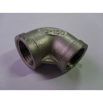 "3/8"" Stainless Steel DIN2999 90 Degree Elbow"