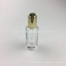 30мл прозрачное стекло необычные пустые косметические борода бутылки масла