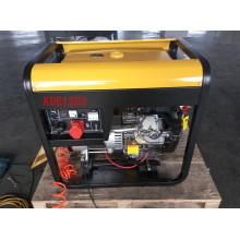AC Three Phase 50Hz/12kVA Key Start Open-Frame Diesel Generator with Twin-Cylinder Diesel Engine
