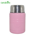 Insulated Stainless Steel Food Jar With Folding Spoon