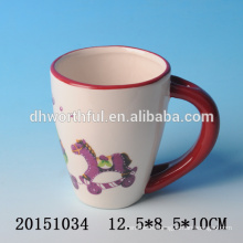 Personalized christmas drinkware,bulk ceramic christmas mugs for kids