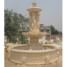 Stage Water Fountain for Garden Stone Marble Fountain (SY-F178)