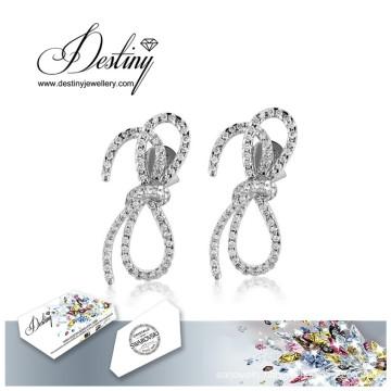 Destiny Jewellery Crystals From Swarovski Earrings Tie Earrings